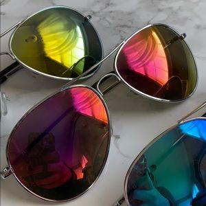 Accessories - Set of 3 Aviator Sunglasses